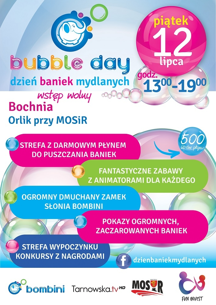 BUBBLE DAY Bochnia